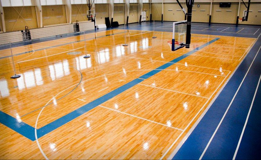 Gym Floor Photos Installation Repairs Refinishing
