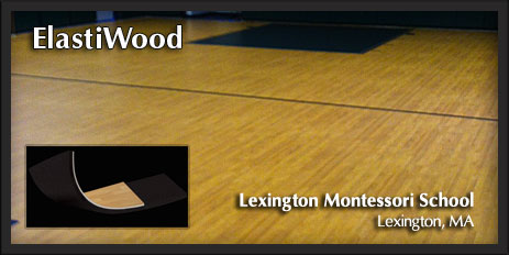 Elastiwood Gymnasium Floor System by New England Sports Floors