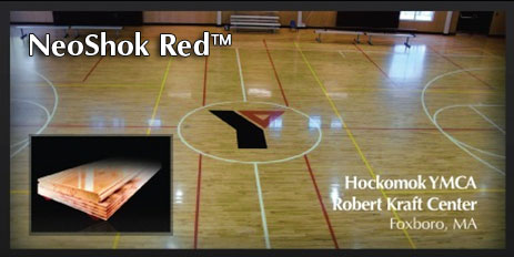 NeoShok Red flooring system