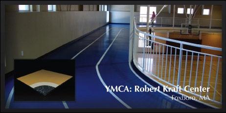 Elastiplus Athletic Floor System Installation Repairs